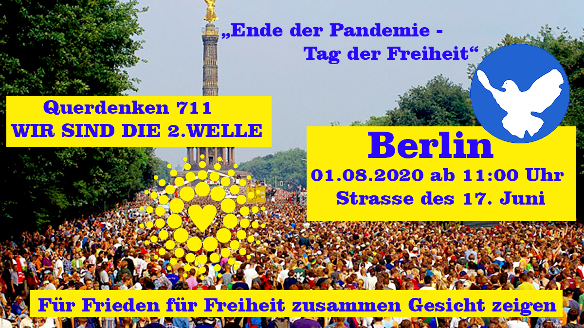 Loveparade is back in Berlin 01.08.2020