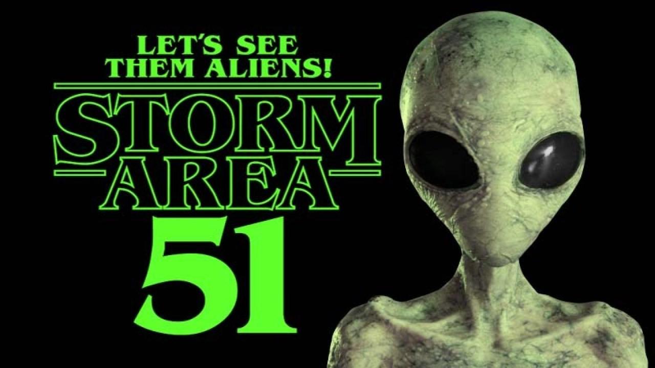 million facebook user stürmen Area 51 lets see them aliens